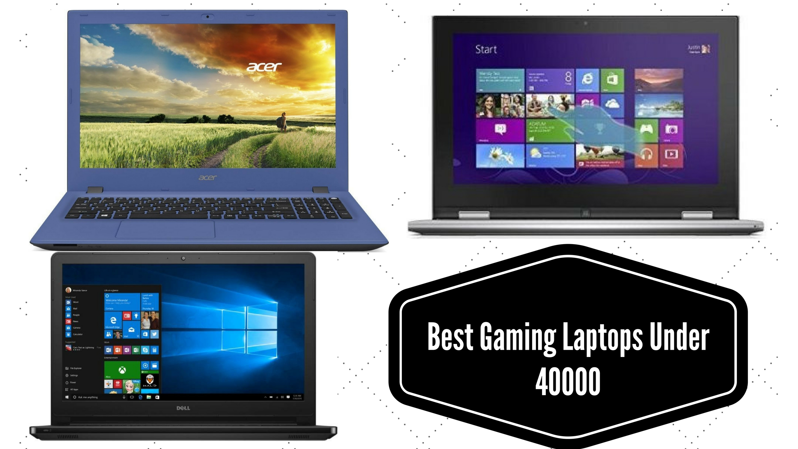 Top 10 Best Gaming Laptops Under 40000 In India Reviews & Comparison Table