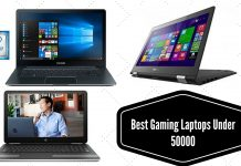 Best Gaming Laptops Under 50000