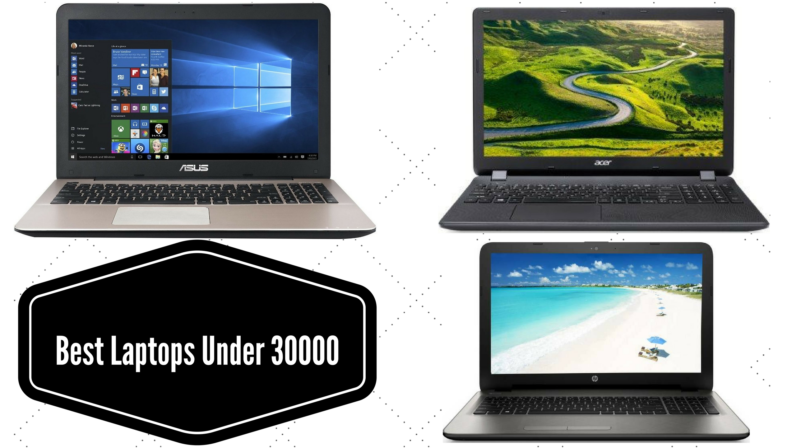 Top 10 Best laptops Under 30000 In India Reviews Comparison & Price List 2018
