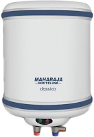 maharaja brand geyser is one of the best water heater in India
