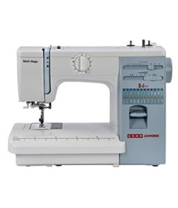 Usha Janome Automatic Stitch Magic 85-Watt Sewing Machine