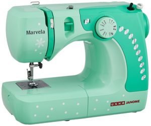 Usha Janome Marvela 60-Watt Sewing Machine