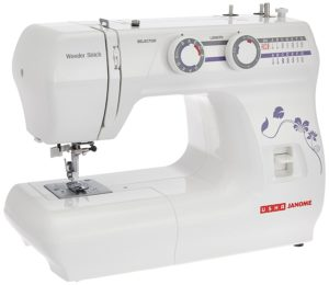 Usha Janome Wonder Stitch Automatic Zig-Zag Electric Sewing Machine