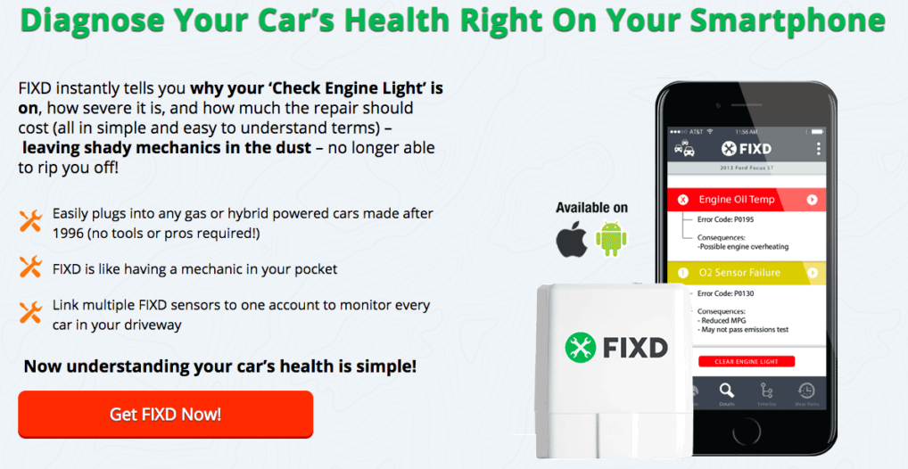 Fixd Review car diagnostic tool