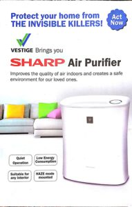 Sharp FP-F30E-H Portable Room Air Purifier