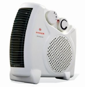 Singer Fan Heater Heat Blow 2000 Watts