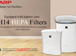 best sharp air purifiers india