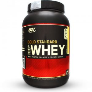 #1. OPTIMUM NUTRITION (ON) 100% WHEY GOLD STANDARD