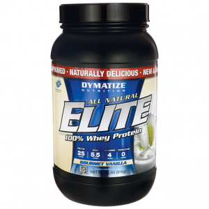 #2. DYMATIZE NUTRITION ELITE WHEY PROTEIN POWDER