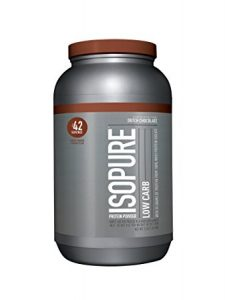 #4. ISOPURE LOW CARB WHEY PROTEIN