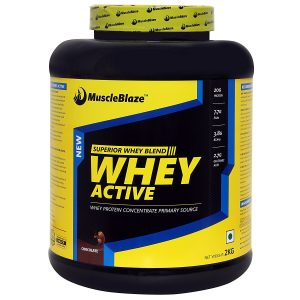 #6. MUSCLEBLAZE ACTIVE WHEY PROTEIN