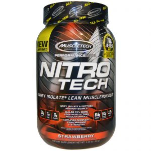 #7. MUSCLETECH NITROTECH PERFORMANCE SERIES WHEY PROTEIN