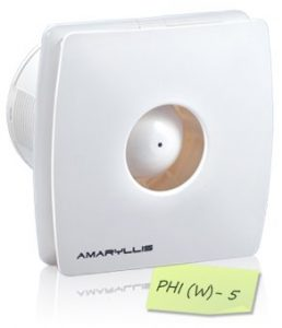 Amaryllis PHI (W) – 5 Bathroom Exhaust Fan
