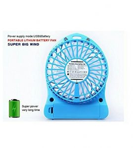 Unbranded Mini Portable Usb Rechargeable 3 Speed Fan