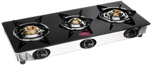 Pigeon 3 Burner Black Line Cook Top Stove