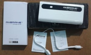 Ambrane P-1310 13000mAH Power Bank