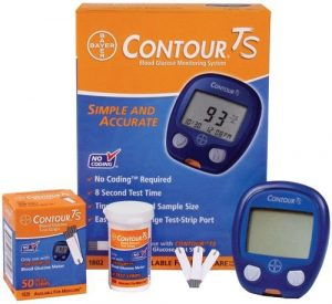 Bayer Contour TS Blood Glucose Monitor Glucometer
