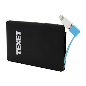 Texet Credit Card Style 2500 mah Powerbank