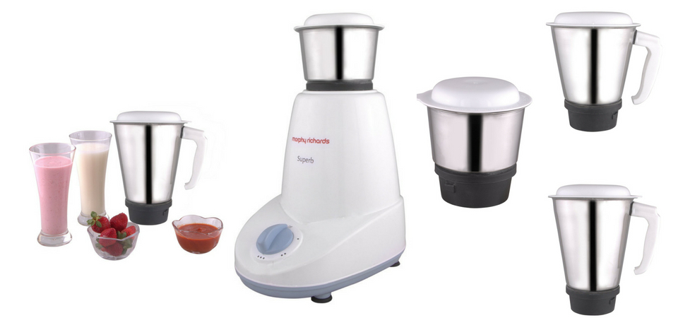 Morphy Richards Superb 500-Watt Mixer Grinder Review 2018