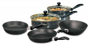 Hawkins Futura Non-Stick Cookware (7 Pieces Set)