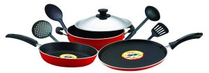 8. Pigeon 8 pc Non-Stick Cookware Set
