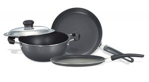 4. Renown Omega Select Plus Non-Stick BYK Set (3-Pieces)