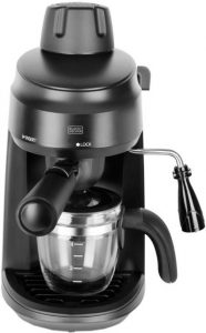 #5.Black & Decker BXCM0401IN Espresso and Cappuccino Coffee Maker