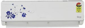 Voltas 1.5 Ton 4 Star Inverter Split AC Copper, 184 VSZS-184V SZS2 Floral, White